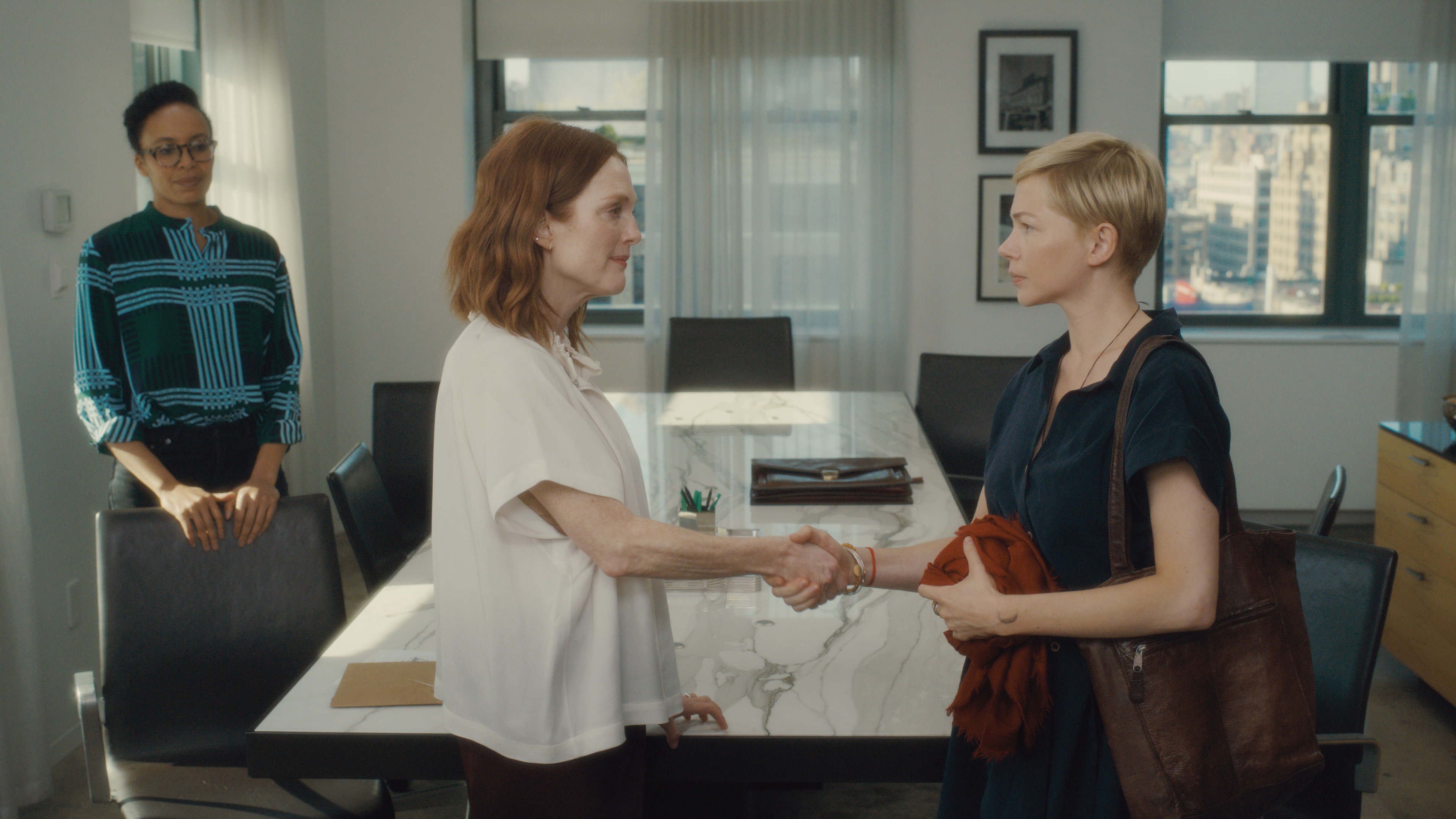 Le maternità di Julianne Moore e Michelle Williams