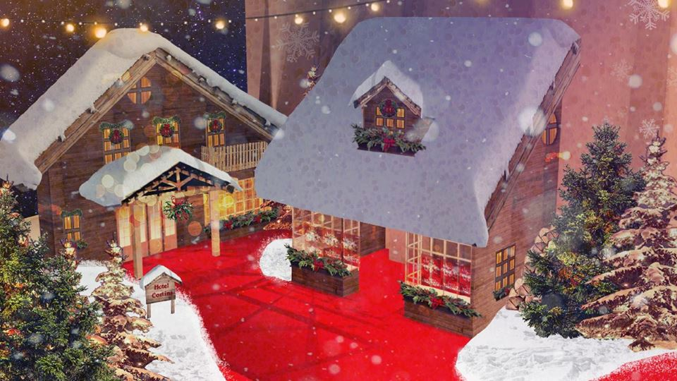 Christmas Village Filmauro a Cinecittà