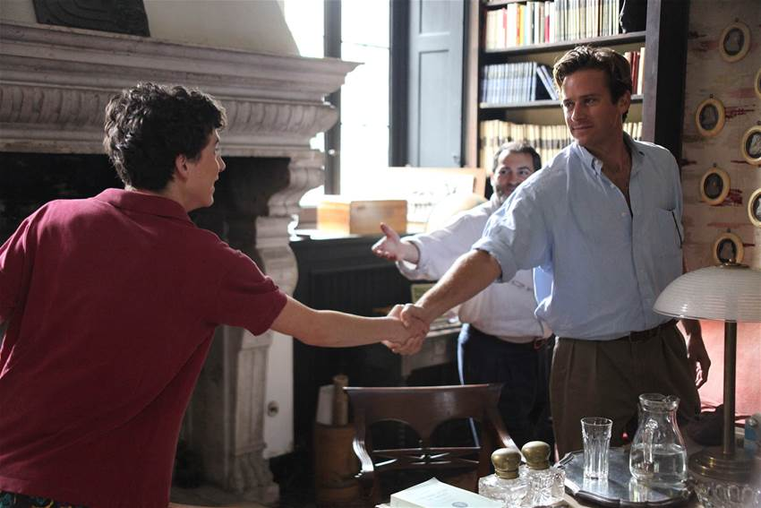 """Call Me by Your Name"" wins WGA award"