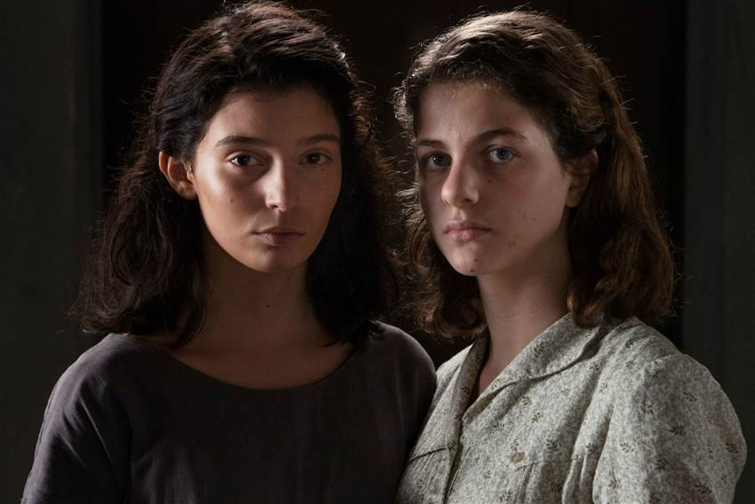 """My Brilliant Friend"" shooting in Caserta"