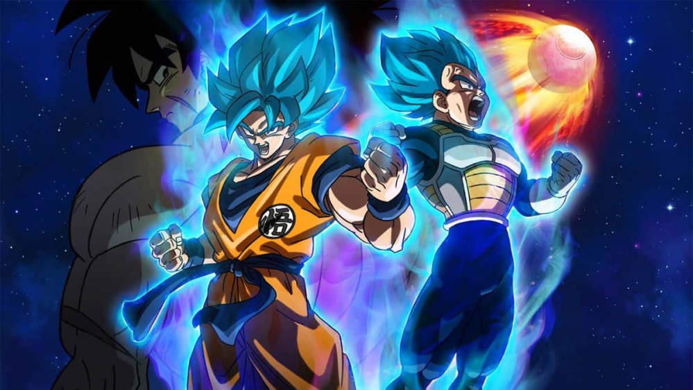 Dragon Ball Super: Broly in testa