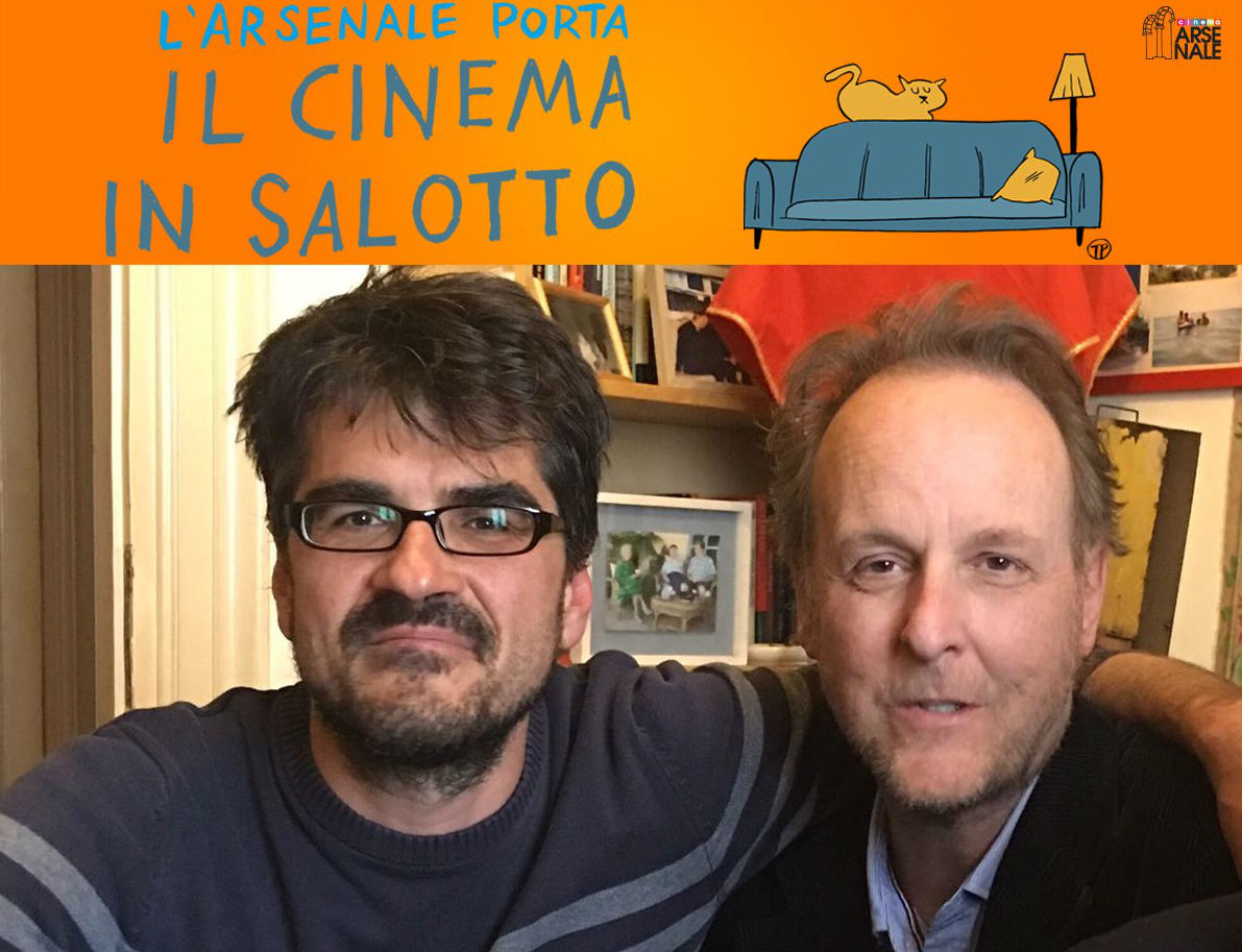Cinema in salotto con Johnson, Bruni e Pannone