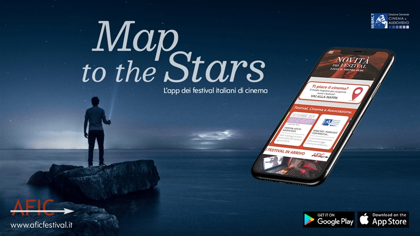 Map to the Stars: The new Italian festivals app