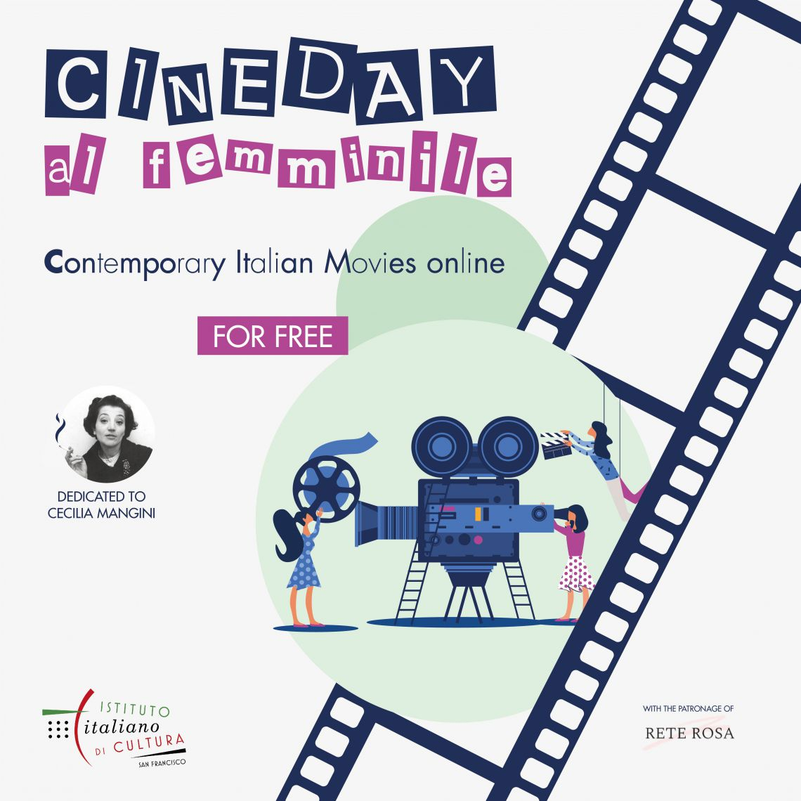 """Cineday"", San Francisco omaggia le registe italiane"