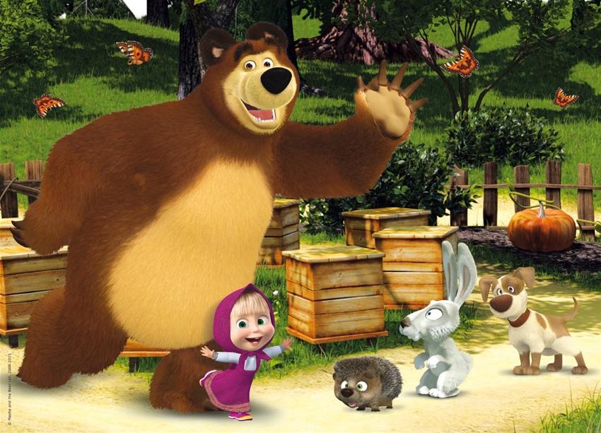 Masha e orso nuovi amici