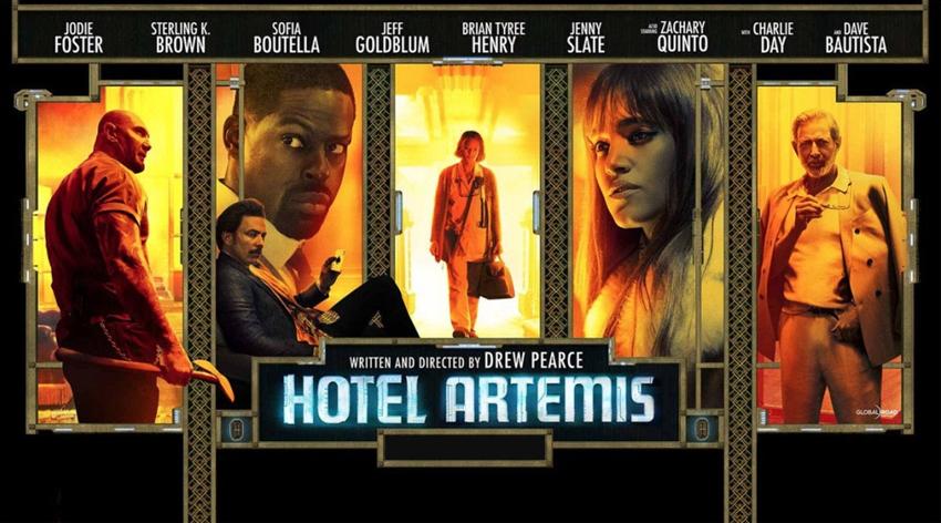 """""""HOTEL ARTEMIS"""" vi aspetta al cinema!!"""